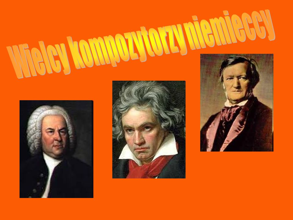 Wielcy kompozytorzy niemieccy
