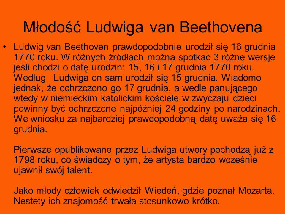 Młodość Ludwiga van Beethovena