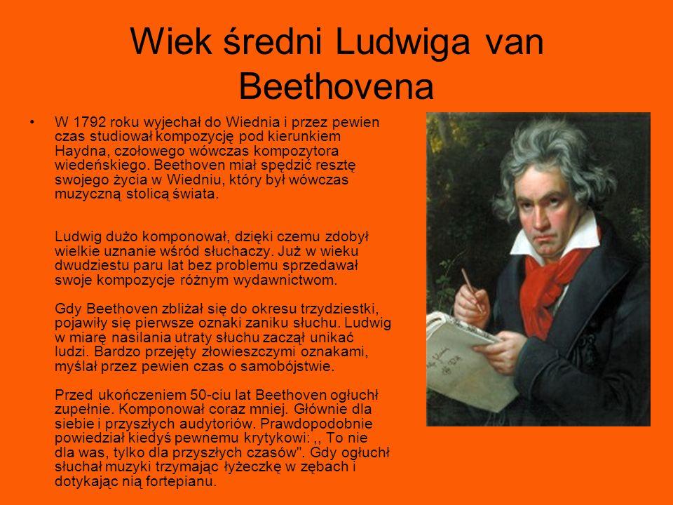 Wiek średni Ludwiga van Beethovena
