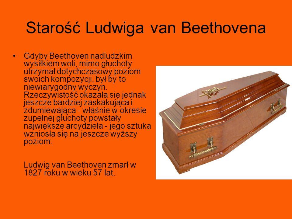 Starość Ludwiga van Beethovena