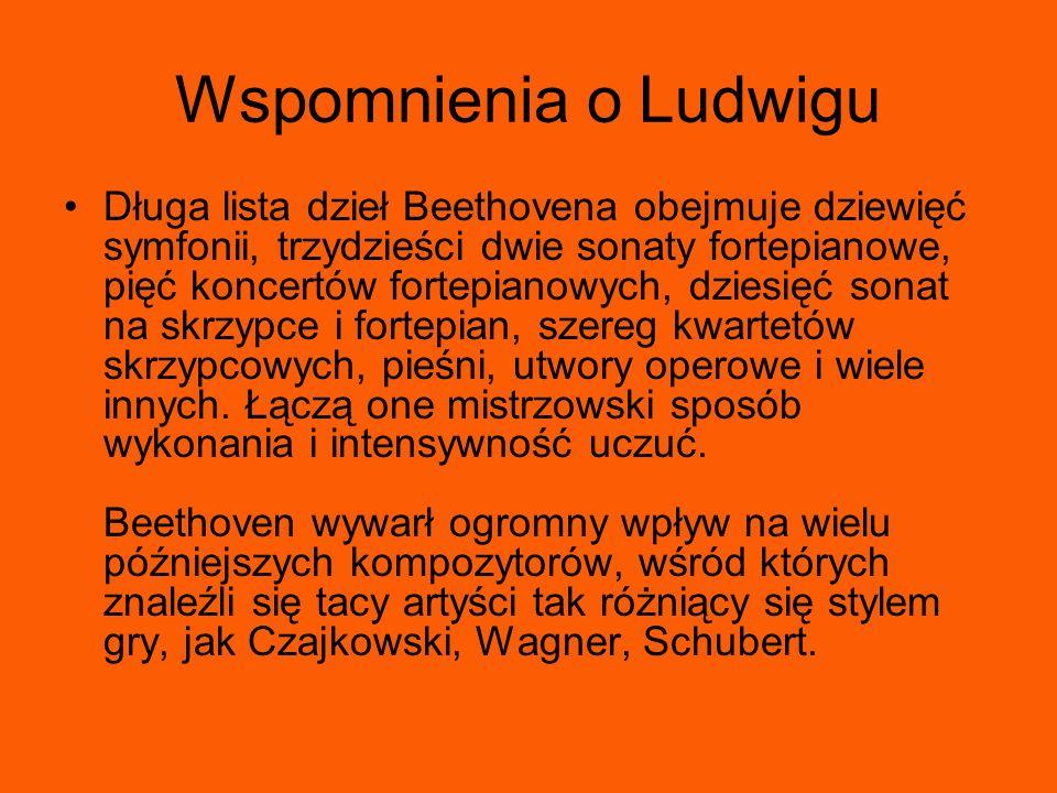 Wspomnienia o Ludwigu