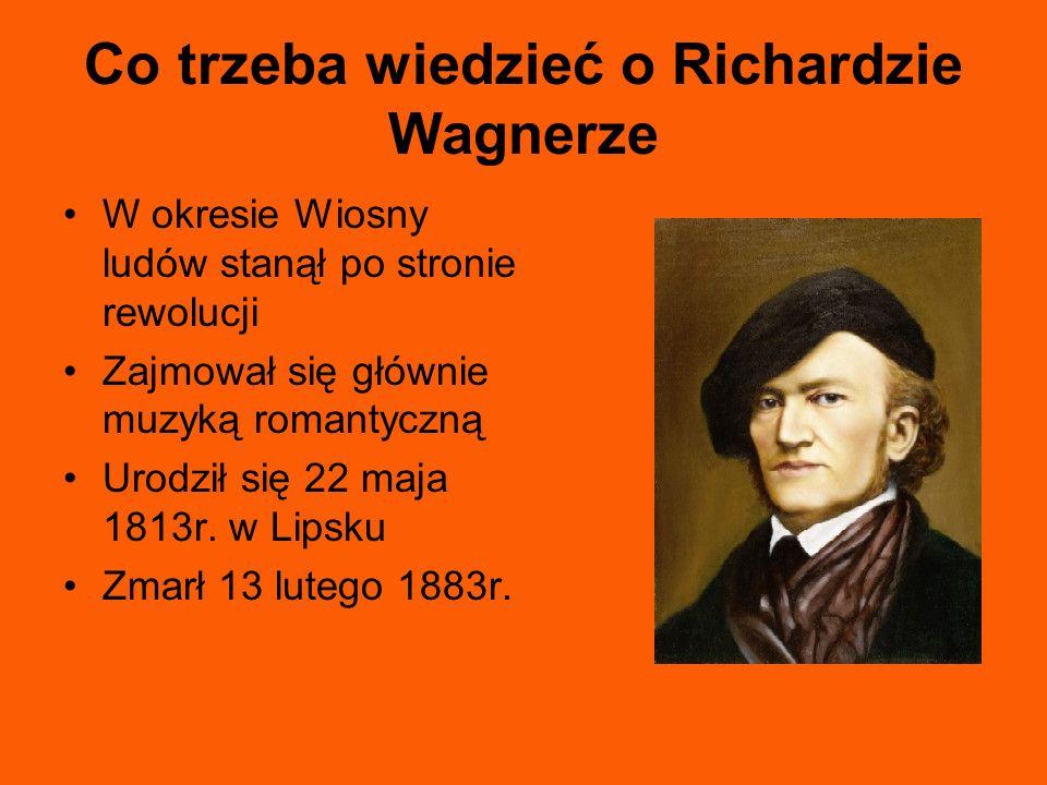Co trzeba wiedzieć o Richardzie Wagnerze