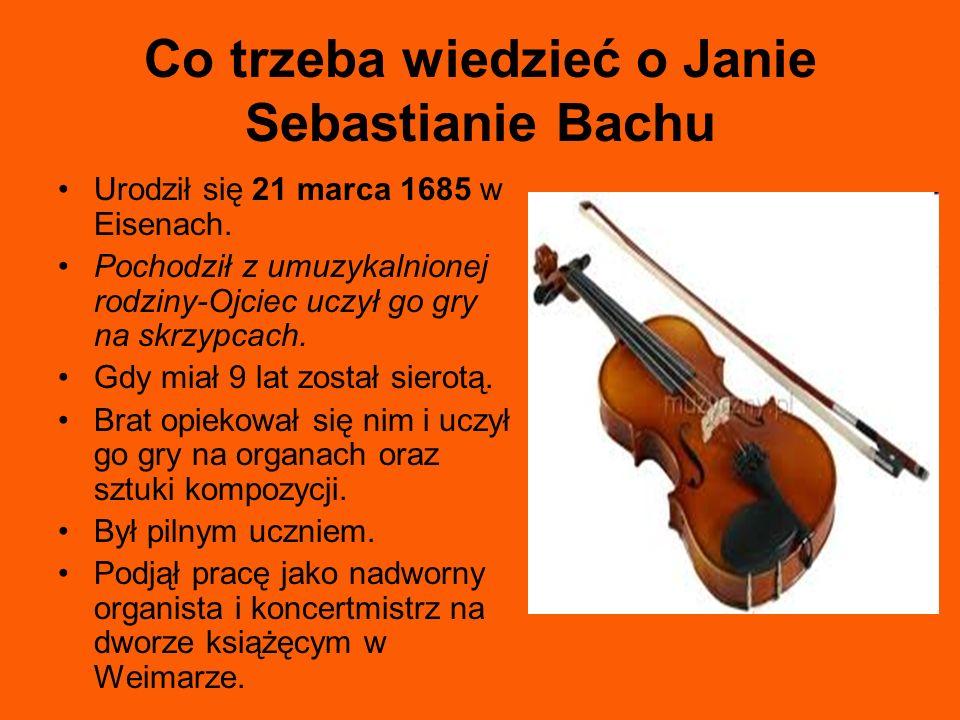 Co trzeba wiedzieć o Janie Sebastianie Bachu