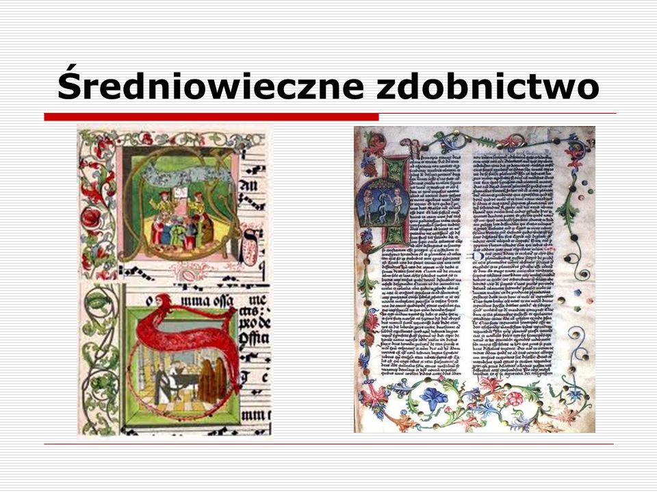 Średniowieczne zdobnictwo