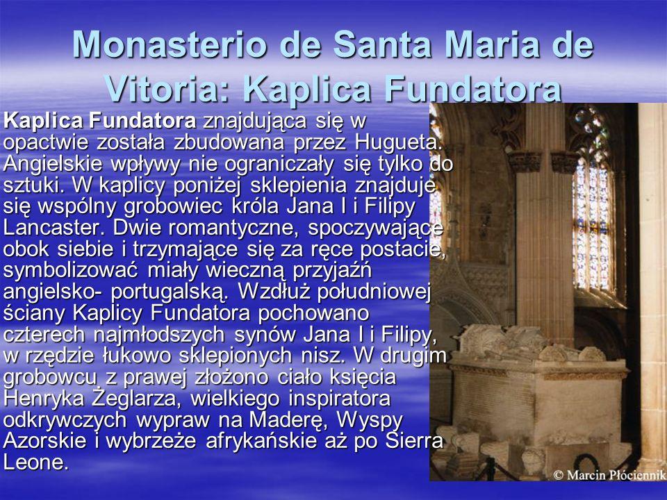 Monasterio de Santa Maria de Vitoria: Kaplica Fundatora
