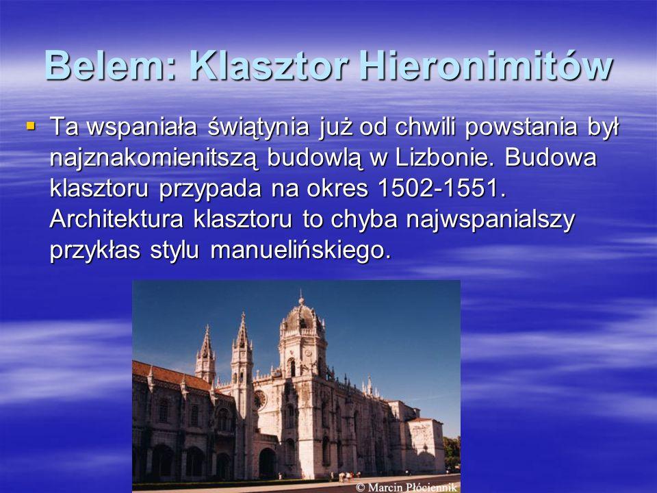 Belem: Klasztor Hieronimitów
