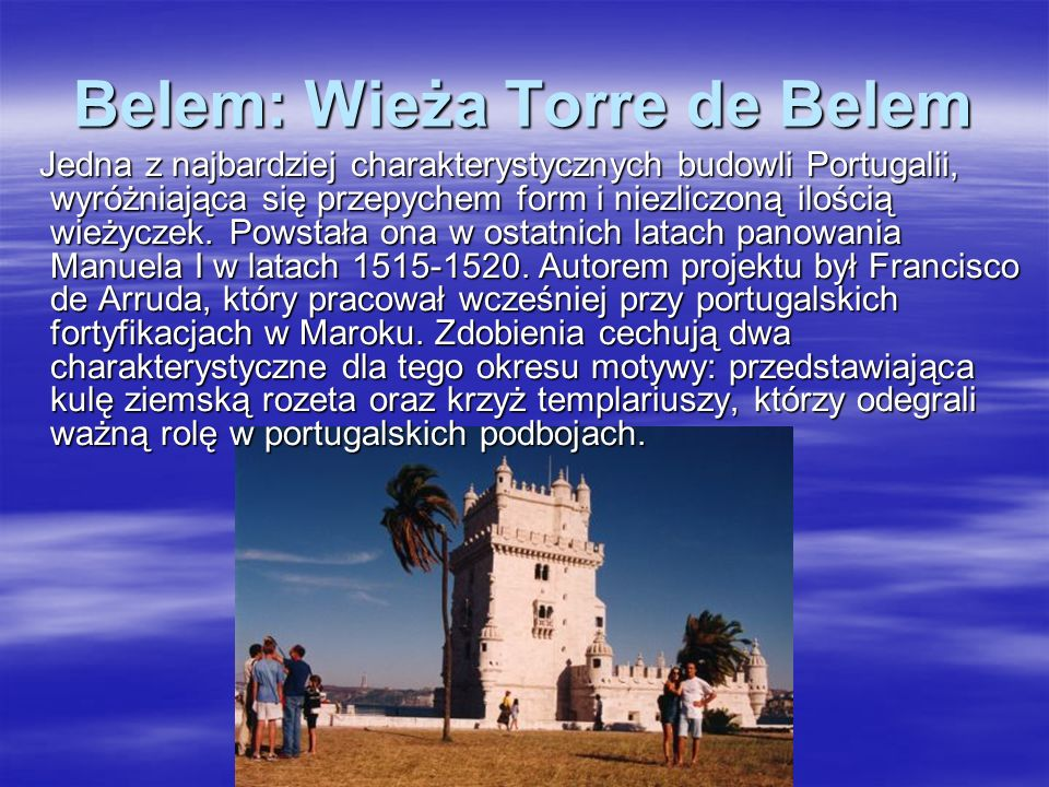 Belem: Wieża Torre de Belem