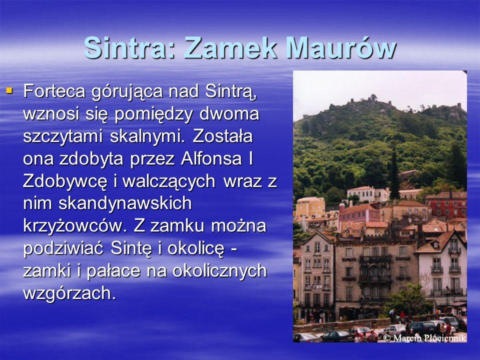 Sintra: Zamek Maurów