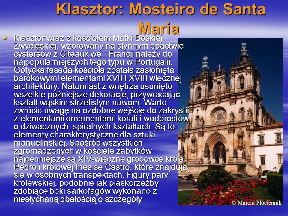 Klasztor: Mosteiro de Santa Maria