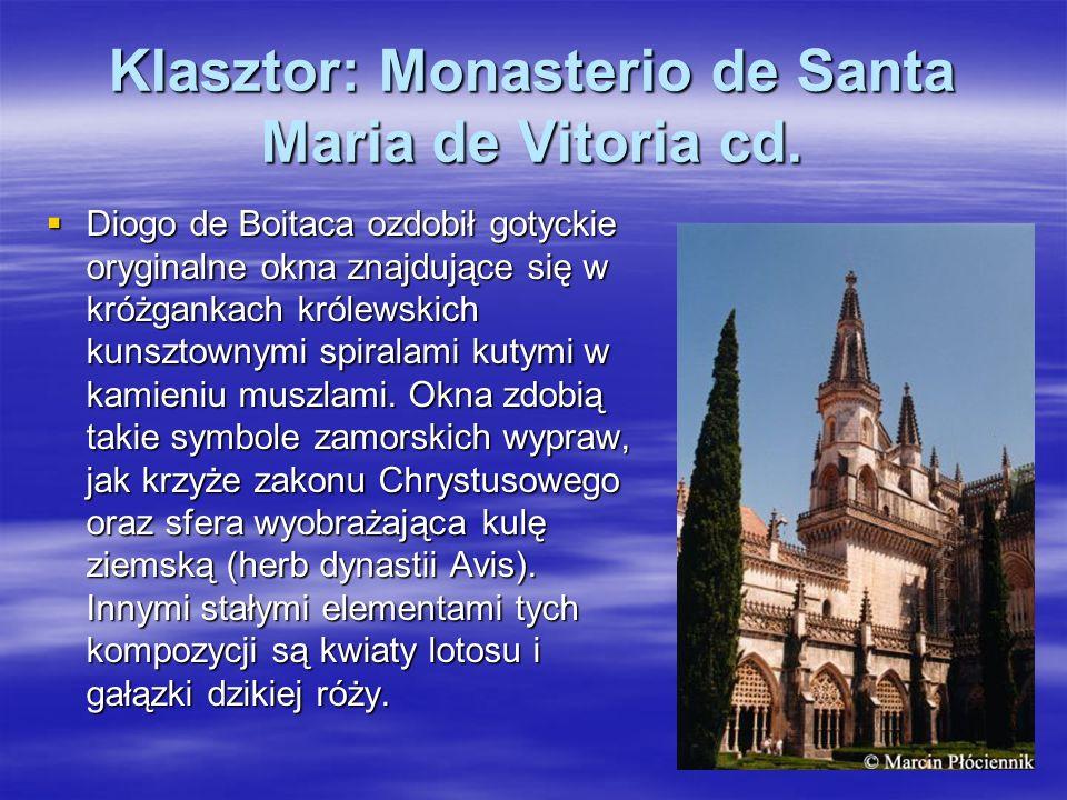 Klasztor: Monasterio de Santa Maria de Vitoria cd.