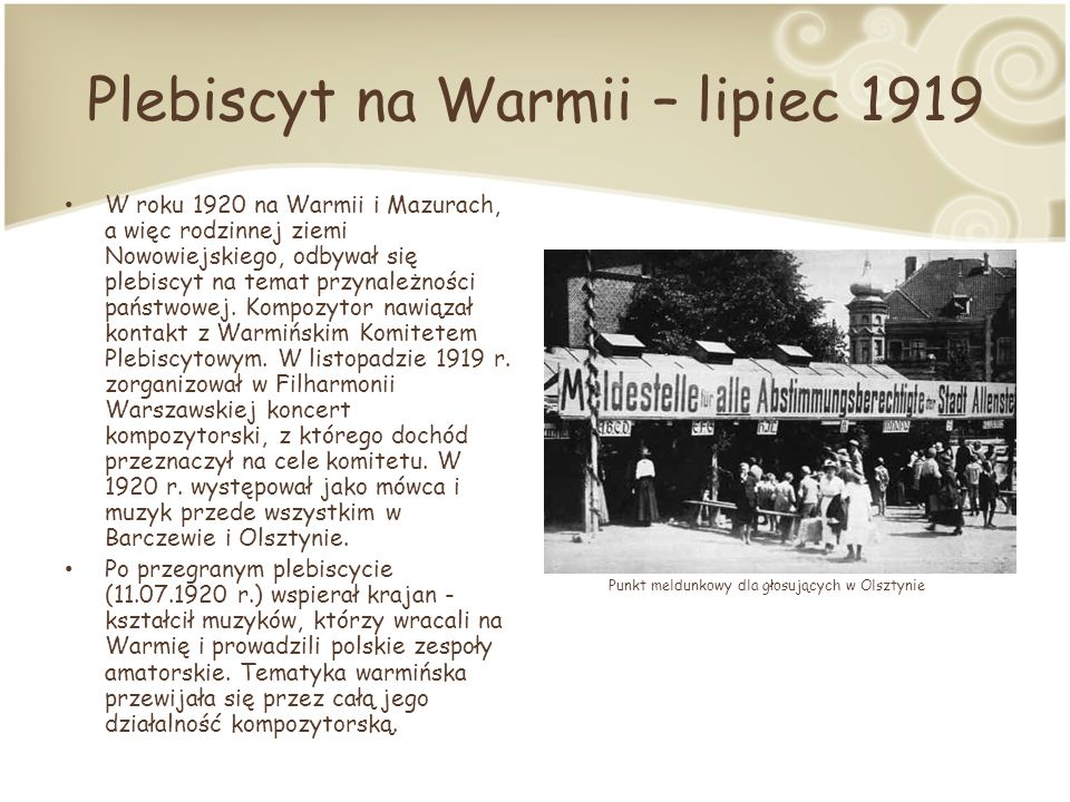 Plebiscyt na Warmii – lipiec 1919