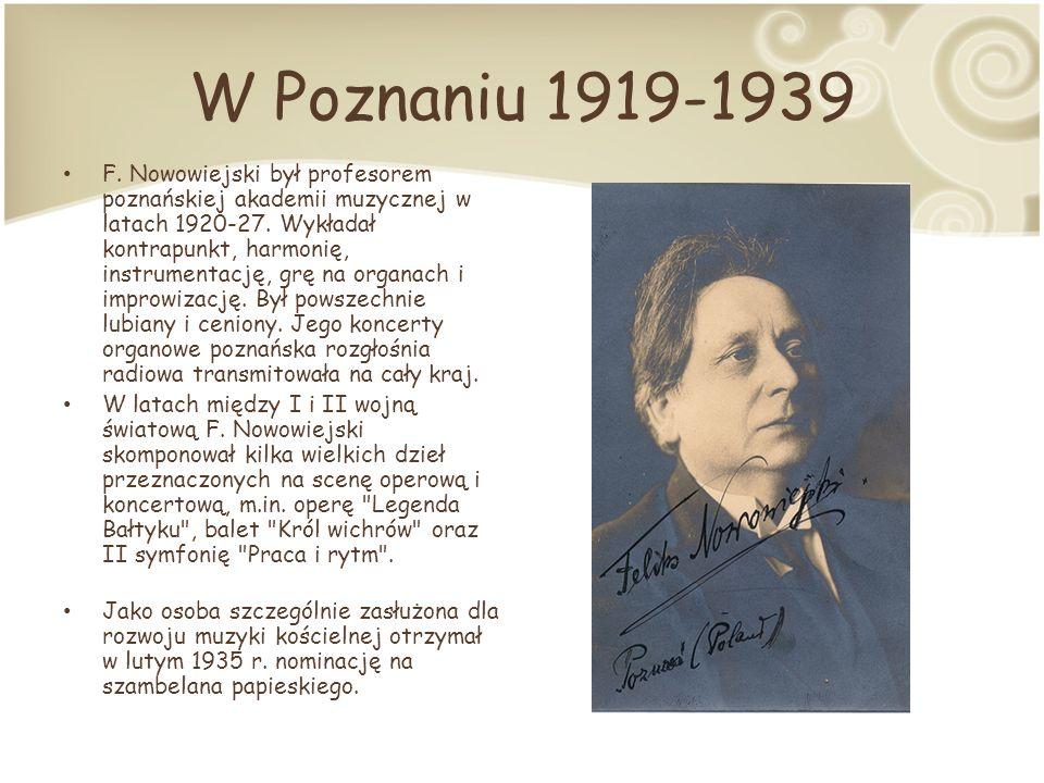W Poznaniu 1919-1939