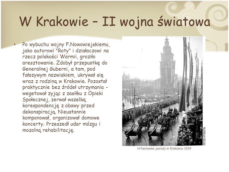 W Krakowie – II wojna światowa