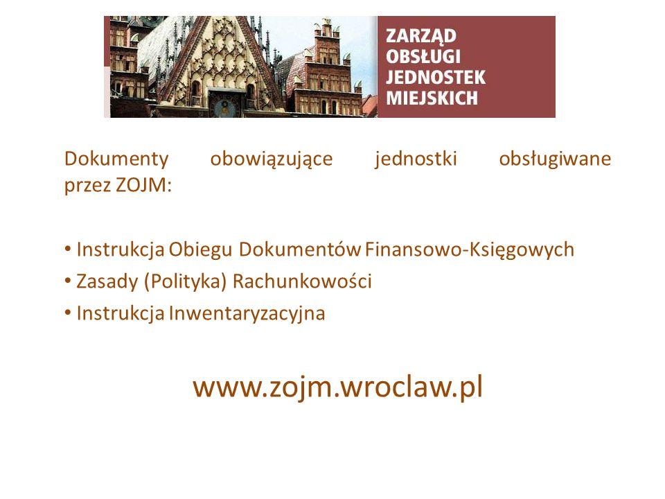 TYTUŁ SLAJDU www.zojm.wroclaw.pl