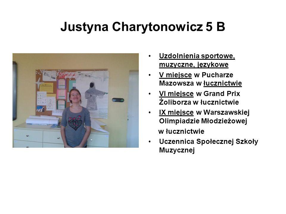 Justyna Charytonowicz 5 B