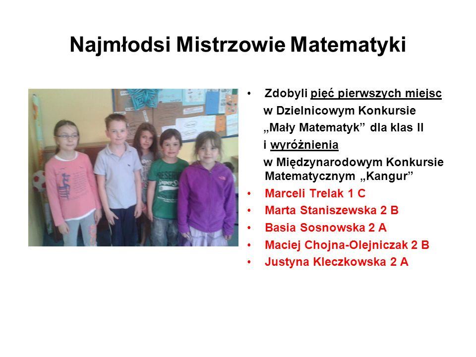 Najmłodsi Mistrzowie Matematyki