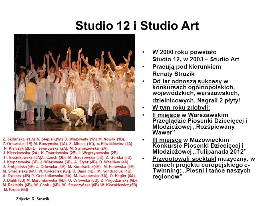 Studio 12 i Studio Art W 2000 roku powstało