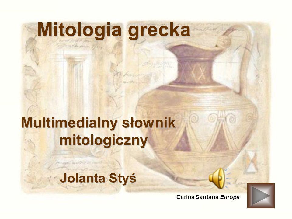 Multimedialny słownik mitologiczny