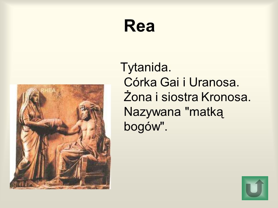 Rea Tytanida. Córka Gai i Uranosa.