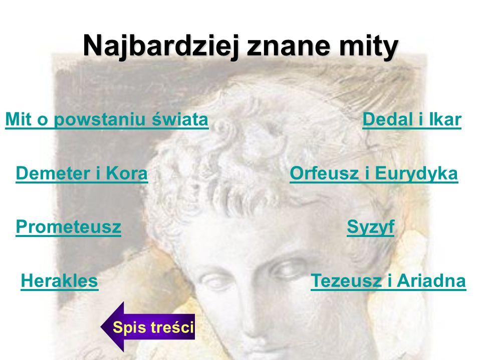Najbardziej znane mity