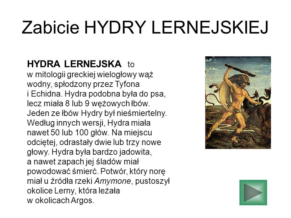 Zabicie HYDRY LERNEJSKIEJ