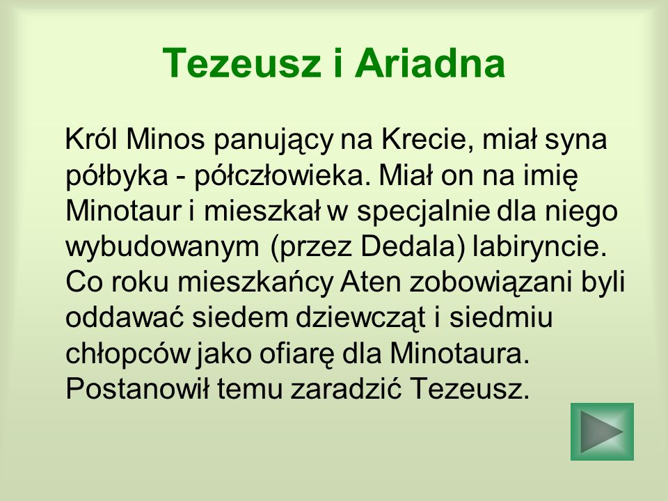 Tezeusz i Ariadna