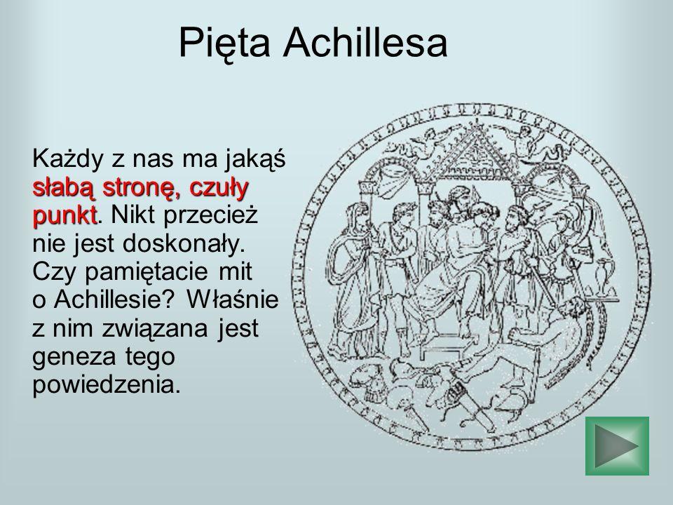 Pięta Achillesa