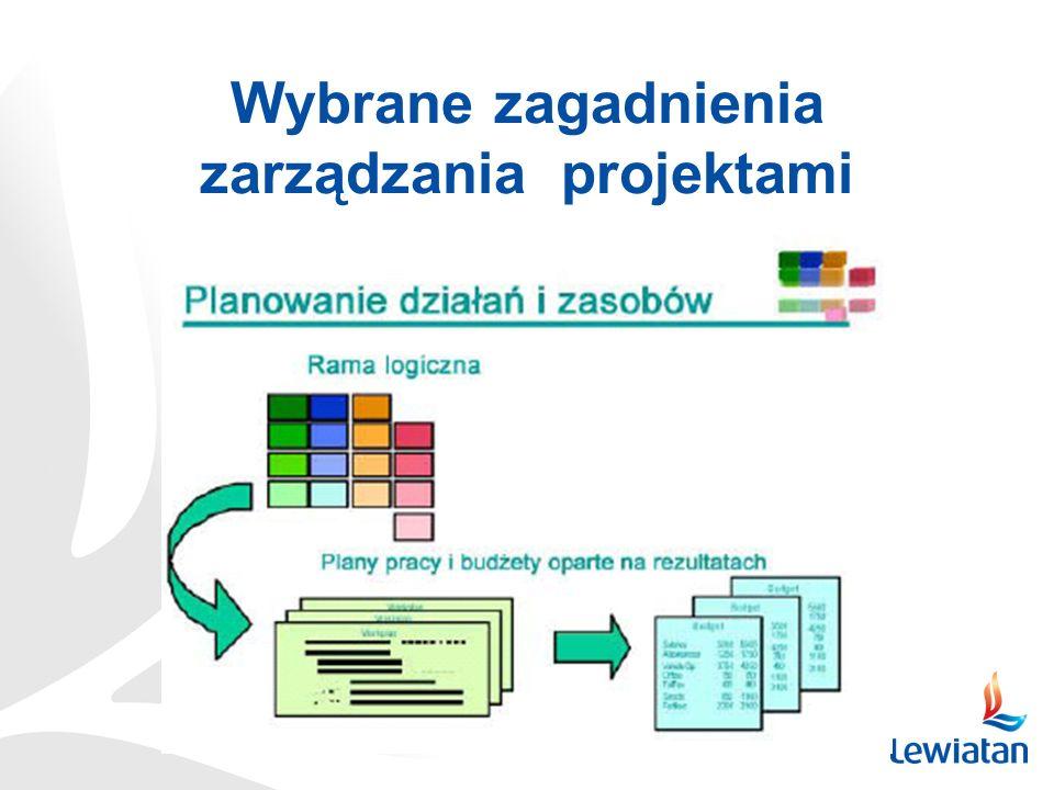 Wybrane zagadnienia zarządzania projektami