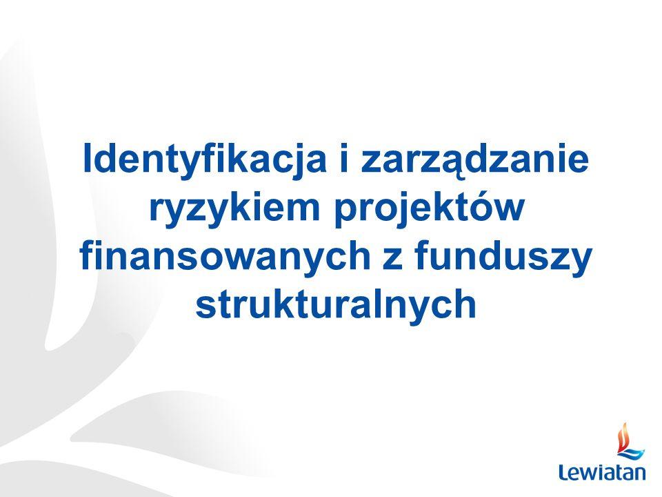 Identyfikacja i zarządzanie ryzykiem projektów finansowanych z funduszy strukturalnych