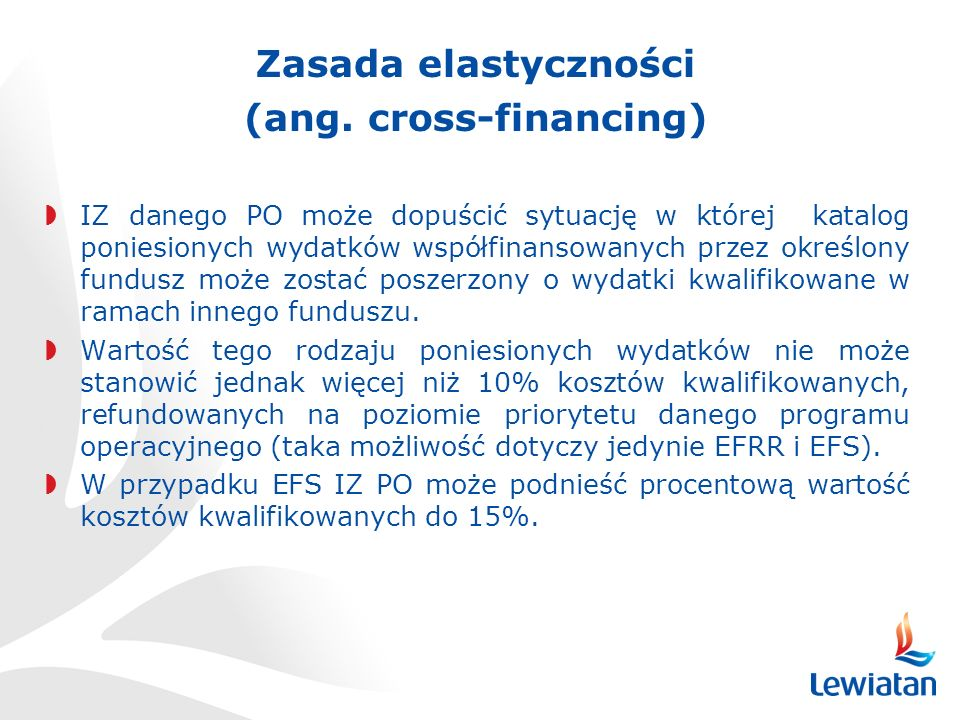 (ang. cross-financing)
