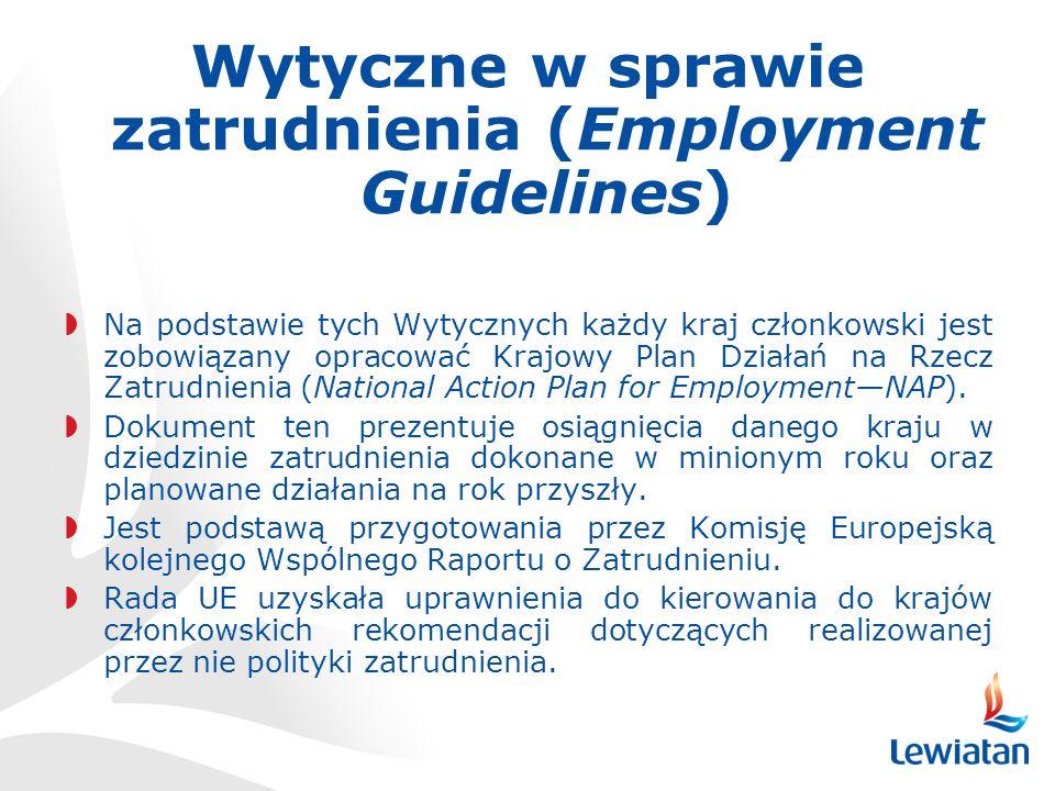Wytyczne w sprawie zatrudnienia (Employment Guidelines)