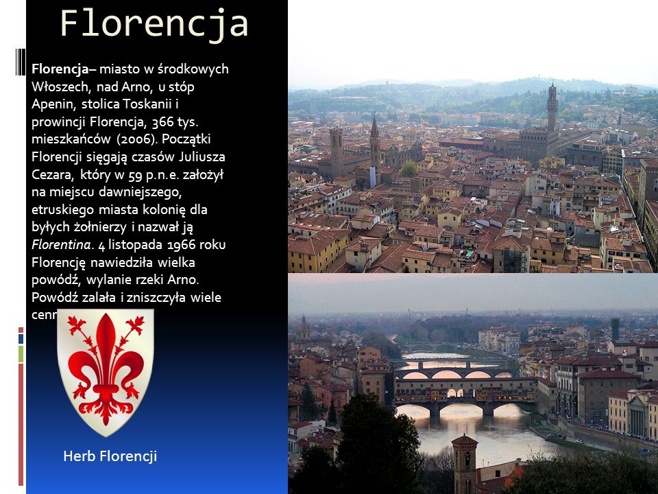 Florencja Herb Florencji