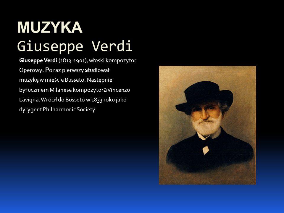 MUZYKA Giuseppe Verdi