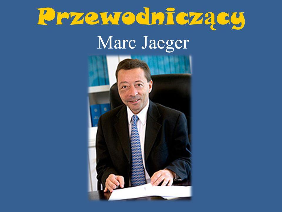 Przewodniczący Marc Jaeger