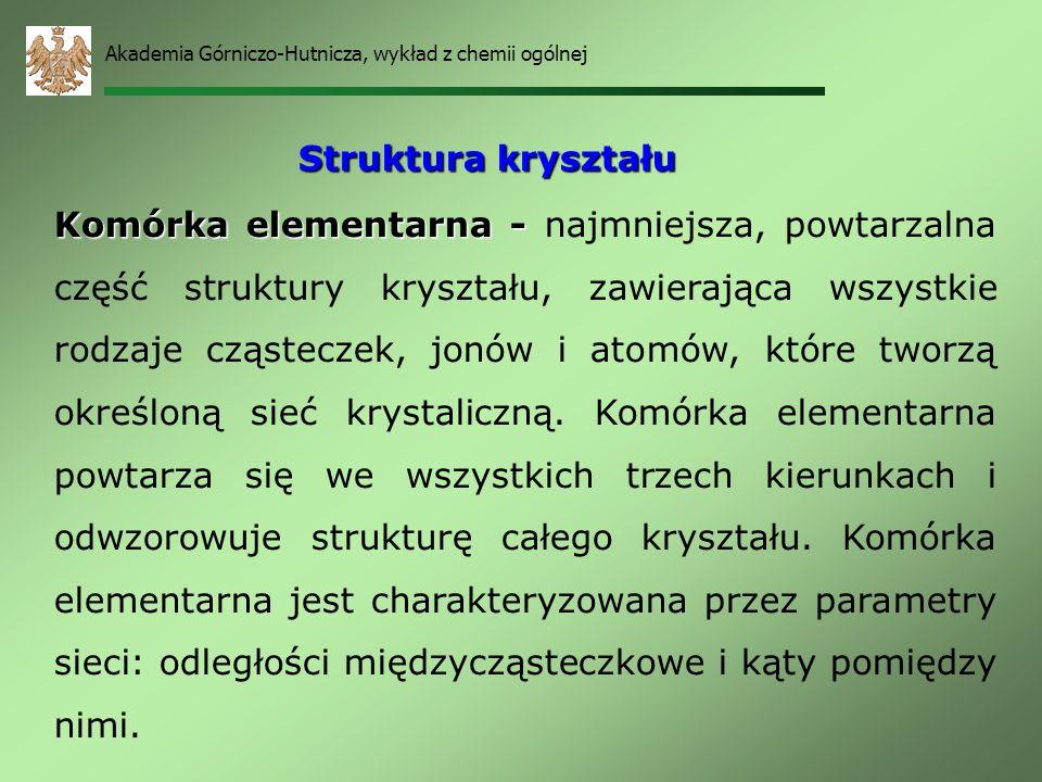 Akademia Górniczo-Hutnicza, wykład z chemii ogólnej