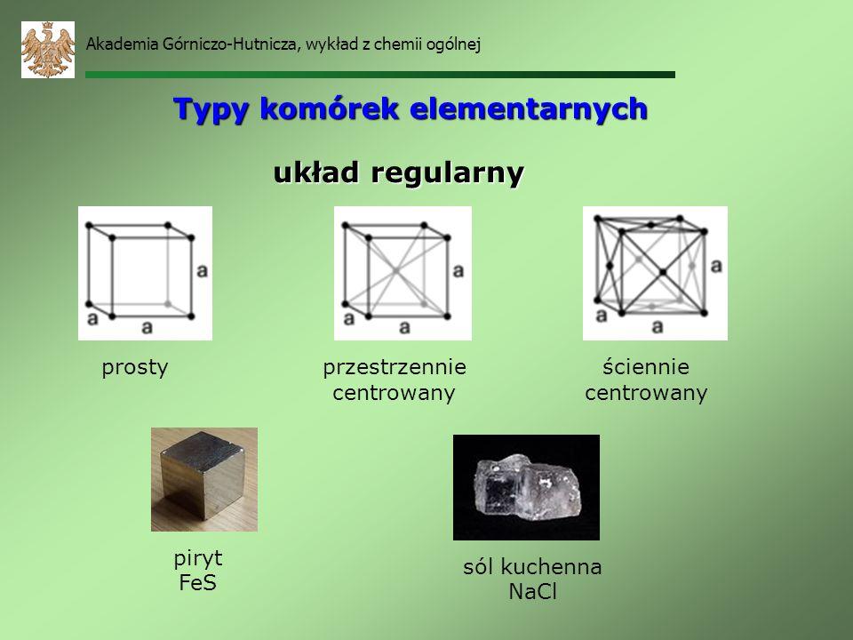 Typy komórek elementarnych