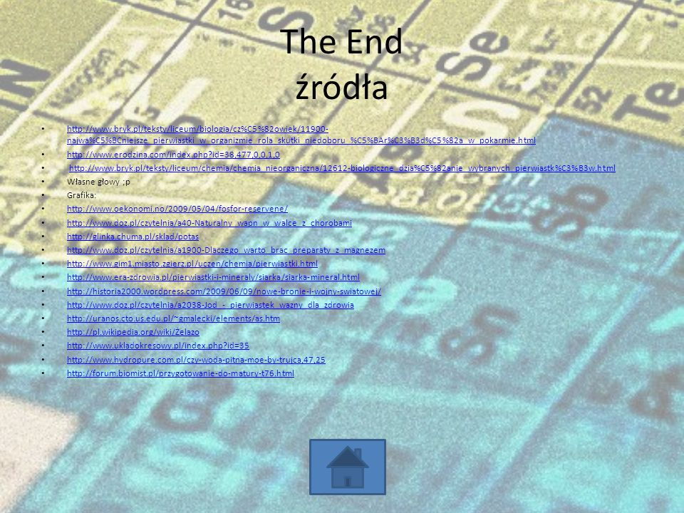 The End źródła