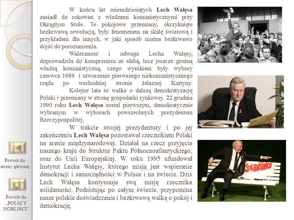 """Powrót do """"POLSCY NOBLIŚCI"""
