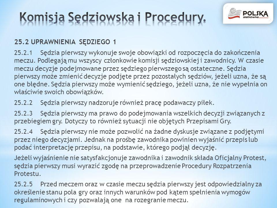 Komisja Sędziowska i Procedury.