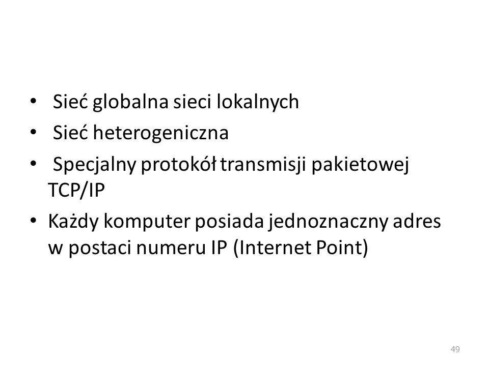 Sieć globalna sieci lokalnych