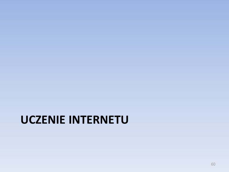 Uczenie Internetu