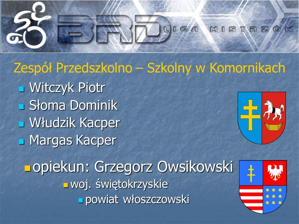 opiekun: Grzegorz Owsikowski