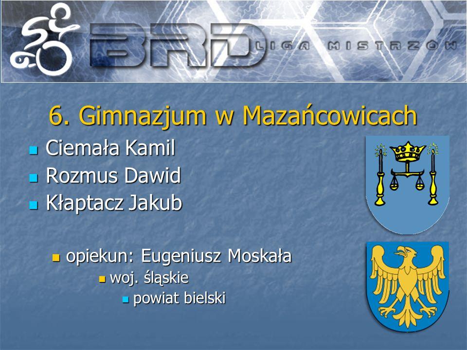 6. Gimnazjum w Mazańcowicach