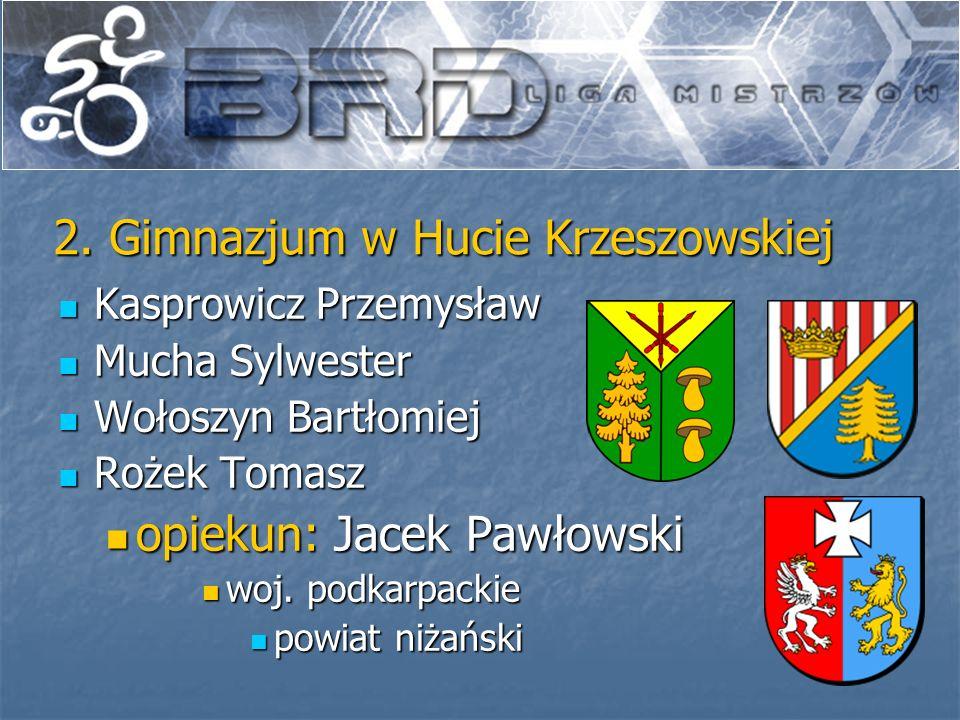 2. Gimnazjum w Hucie Krzeszowskiej