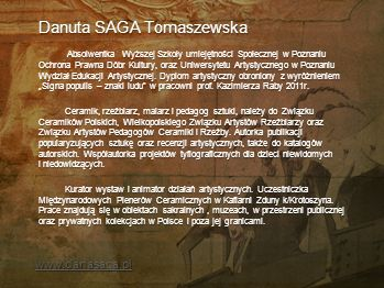 Danuta SAGA Tomaszewska