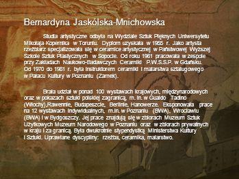 Bernardyna Jaskólska-Mnichowska