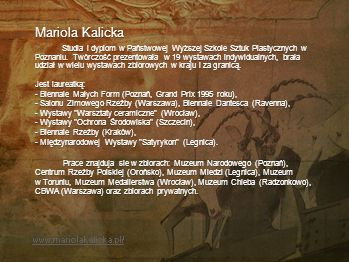 Mariola Kalicka