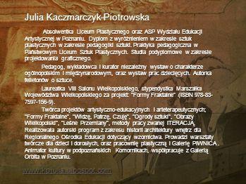 Julia Kaczmarczyk-Piotrowska