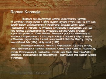 Roman Kosmala www.romankosmala.com.pl