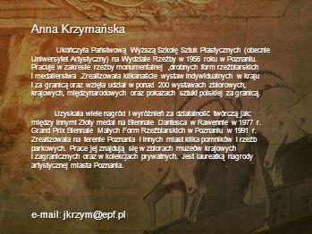 Anna Krzymańska e-mail: jkrzym@epf.pll